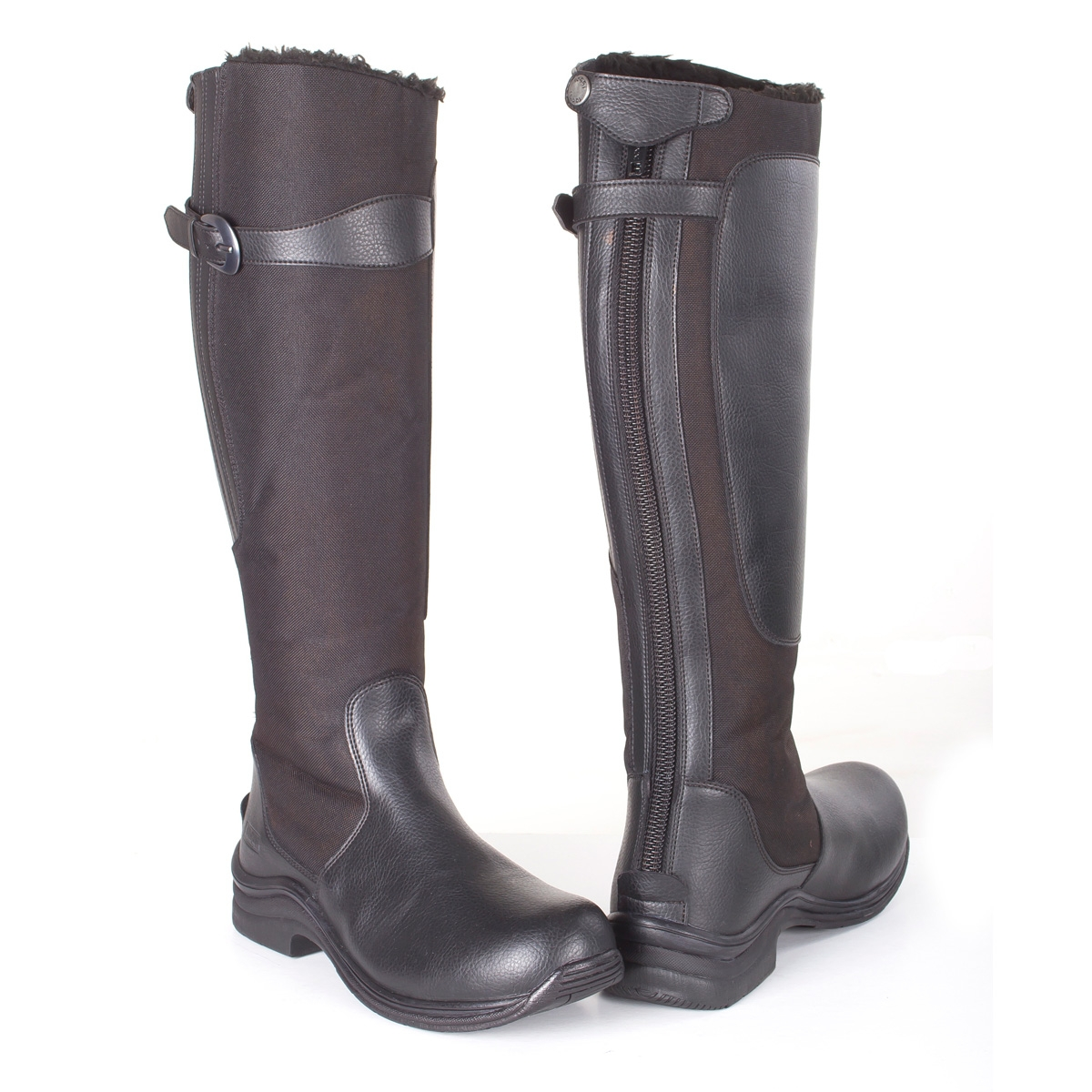 toggi chinook fleece lined boots womens black