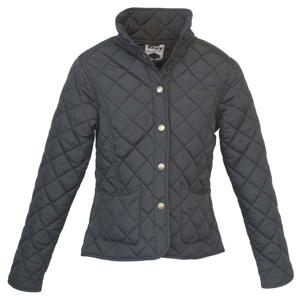 Toggi Sandown Ladies Diamond Quilted Jacket - Black | Uttings.co.uk