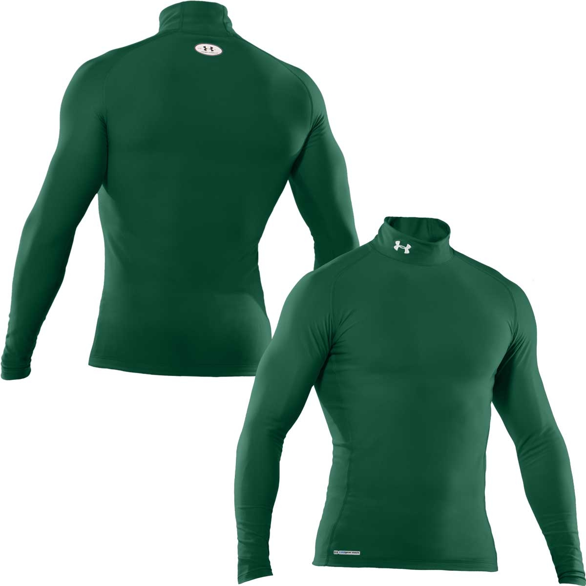 official photos 0f50f 187f7 under armour white mock turtleneck