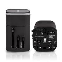 Veho Universal Dual USB 5V 3.2 World Travel Plug