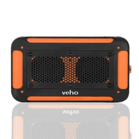 Veho Vecto Wireless Water Resistant Bluetooth Outdoor Speaker with 6000mAh Powerbank