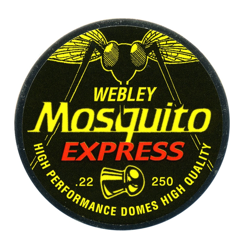 Webley mosquito 22 pellets x 250 for Mosquito pellets