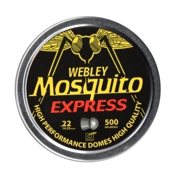 Webley mosquito express pellets 22 500 for Mosquito pellets