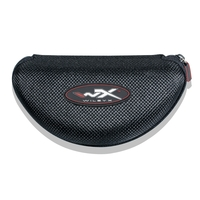 Image of Wiley X Zippered Case - Black / Red