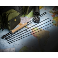 Wychwood 6 Piece Game Quest V2 Fly Rod - 9ft 6in