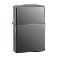 Zippo Black Ice Classic Chrome Plated Lighter
