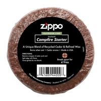 Zippo Camp Fire Starter Cedar/Wax Puck