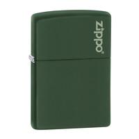 Zippo Green Matte Lighter