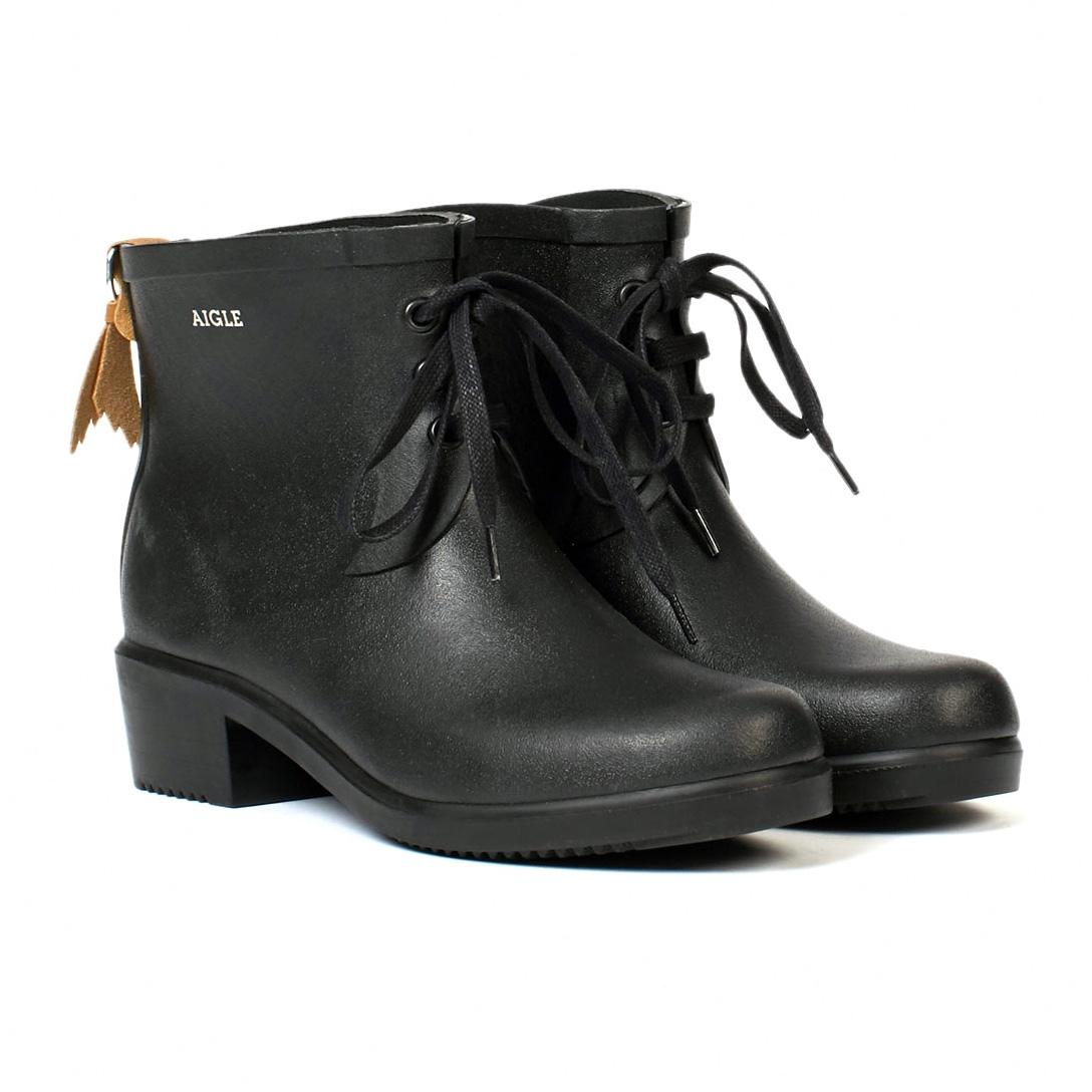 aigle miss juliette bottillon lace ankle boots s