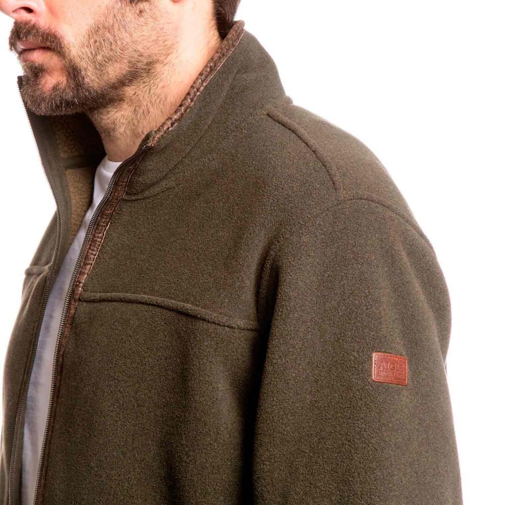 aigle garrano polartec sheepskin fleece jacket mouton. Black Bedroom Furniture Sets. Home Design Ideas