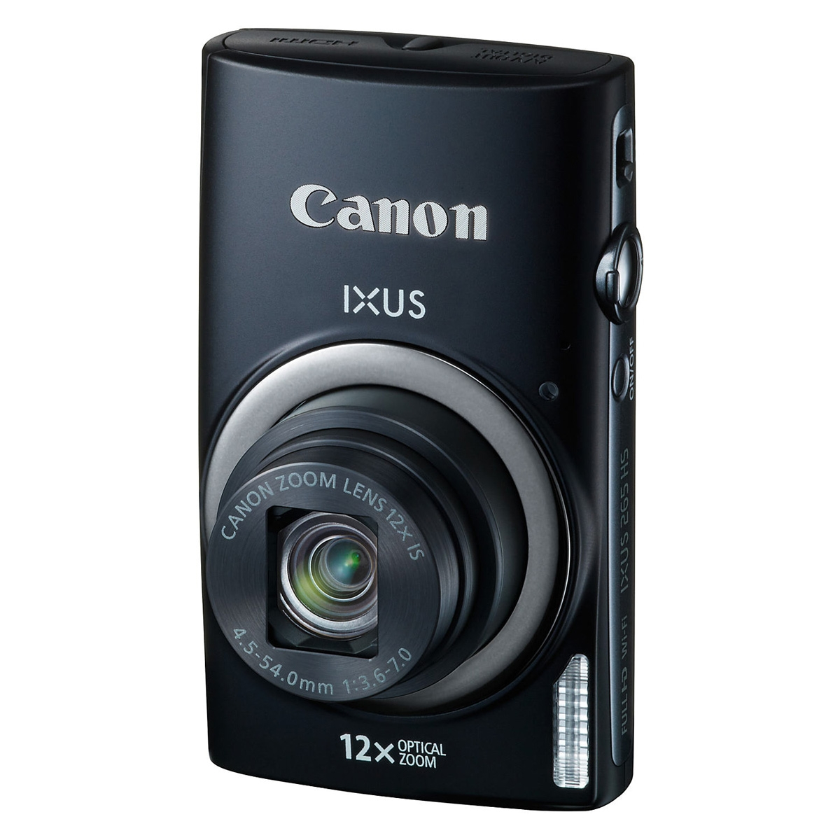 canon ixus 265 hs 16mp digital camera black. Black Bedroom Furniture Sets. Home Design Ideas