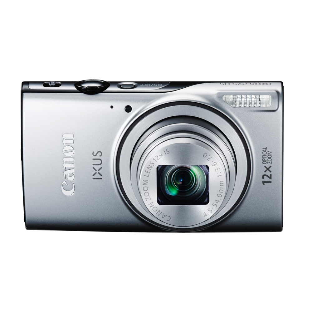 canon ixus 275 hs 20mp digital camera silver. Black Bedroom Furniture Sets. Home Design Ideas