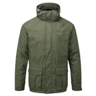 Image of Craghoppers Kiwi 3 In 1 Jacket - Park Green/Dark Khaki