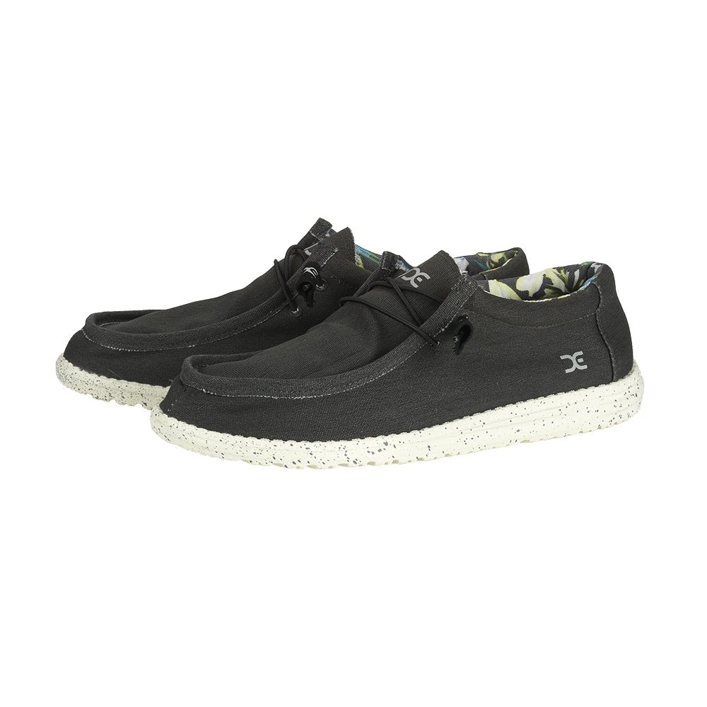 Image of Hey Dude Wally Stretch Shoes - Black