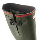 Image of Hunter Balmoral Bamboo Carbon Wellington Boots (Unisex) - Dark Olive