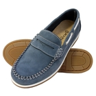 Image of Kanyon Outdoor Florence Ladies Boat Shoes (Women's) - Jeans Nubuck