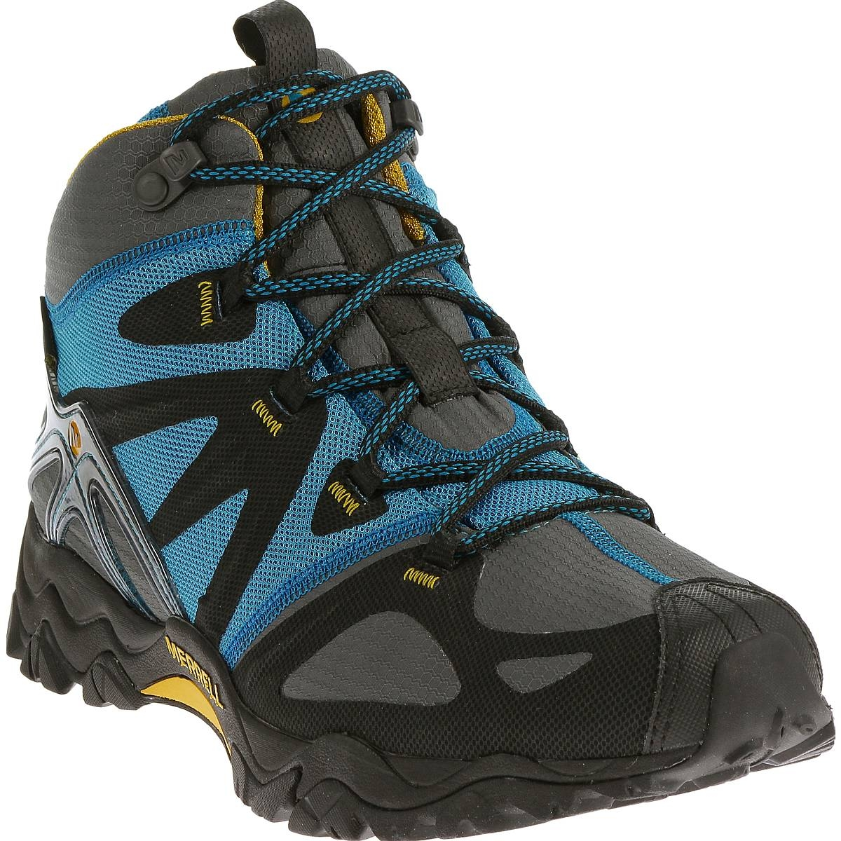 ... Image of Merrell Grassbow Mid Sport GTX Walking Boots (Men's) - Racer  Blue ...