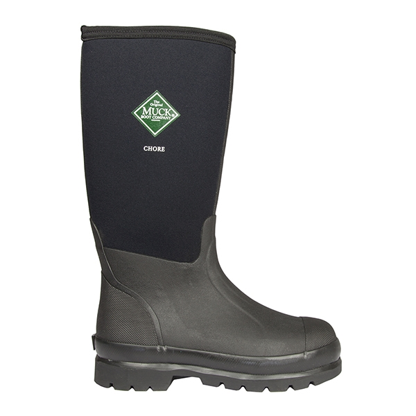 MuckBoot Co Chore Classic Hi Wellingtons - Black | Uttings.co.uk