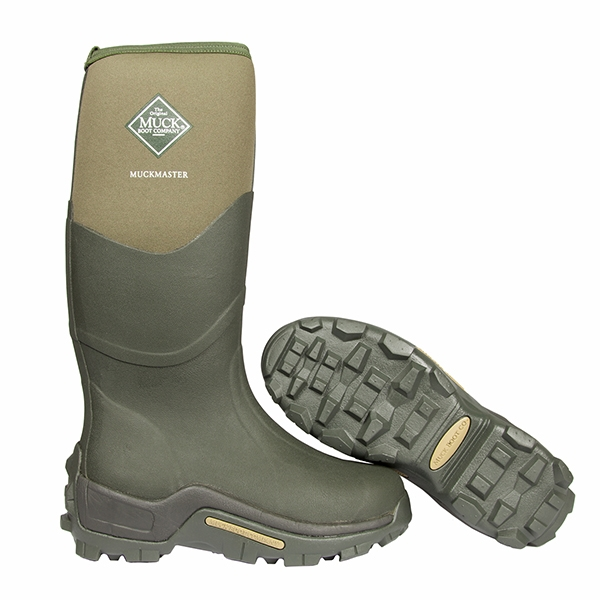 MuckBoot Co Muckmaster Hi Wellingtons - Moss Green | Uttings.co.uk