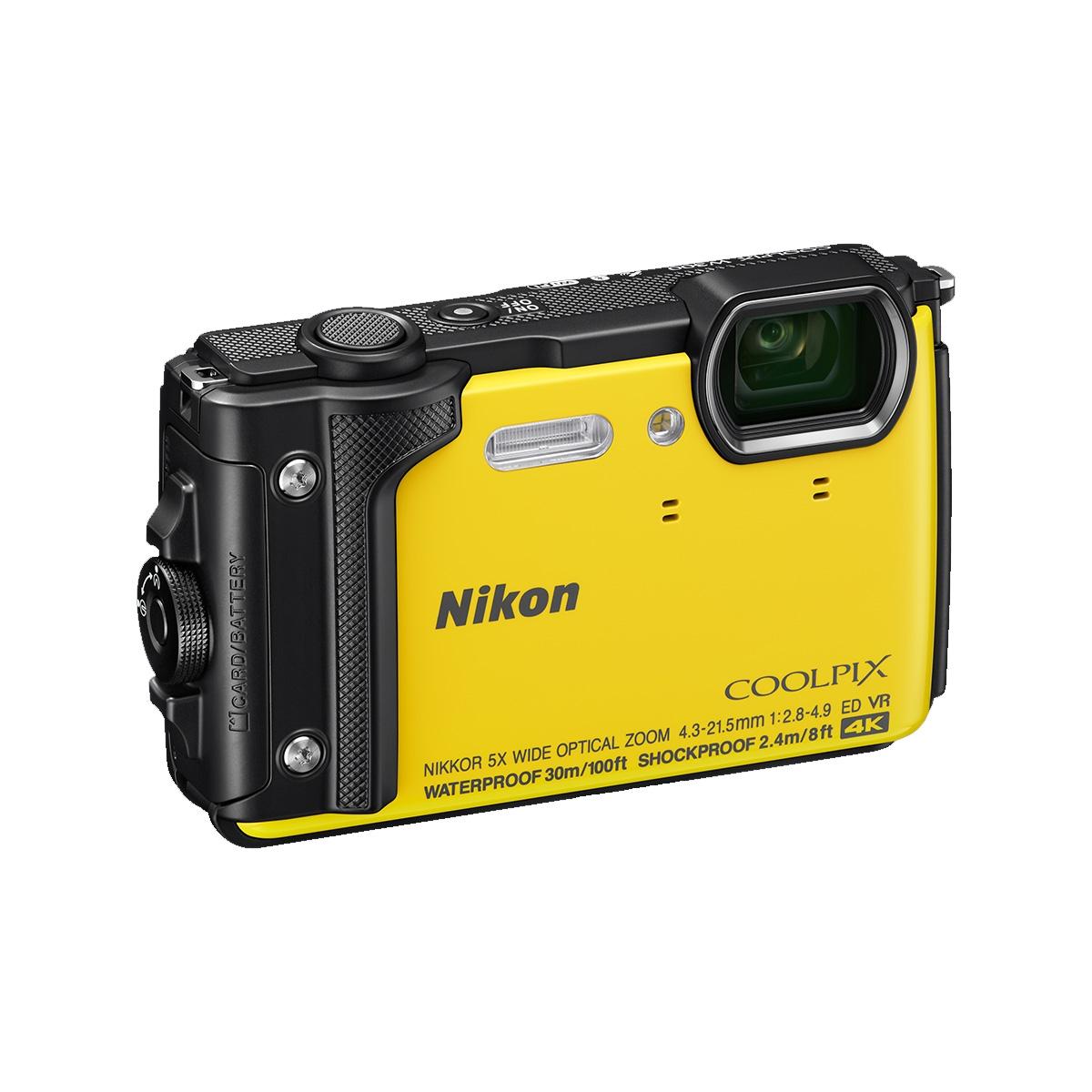 Nikon Coolpix W300 16MP Waterproof Camera - Yellow | Uttings.co.uk