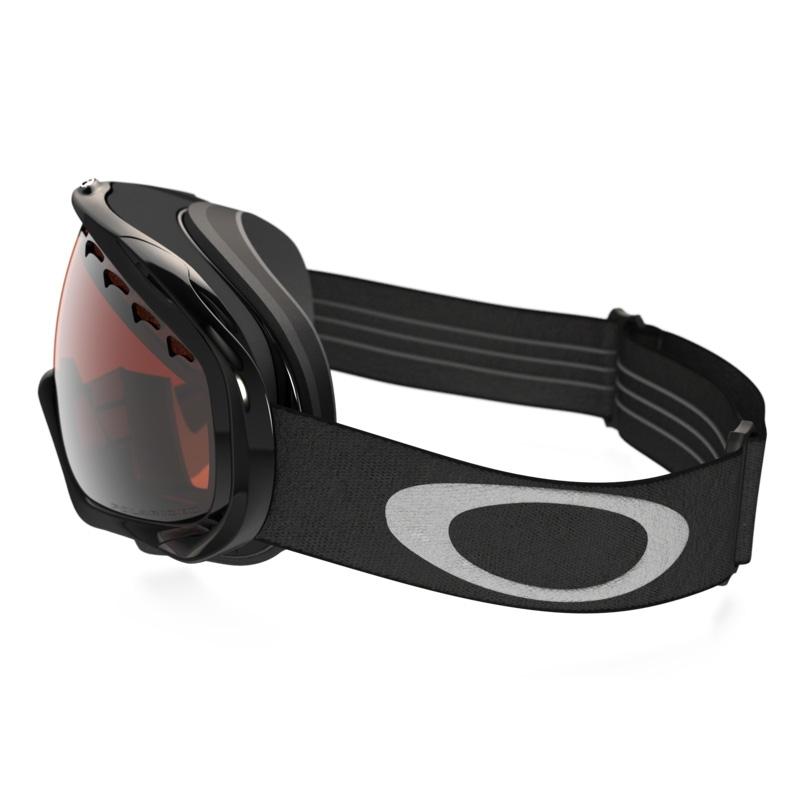oakley ski goggles crowbar  Oakley Crowbar Ski Goggles - Jet Black / VR28