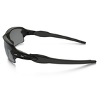 Image of Oakley Flak 2.0 Polarized Sunglasses - Polished Black Frame/Black Iridium Polarized Lens