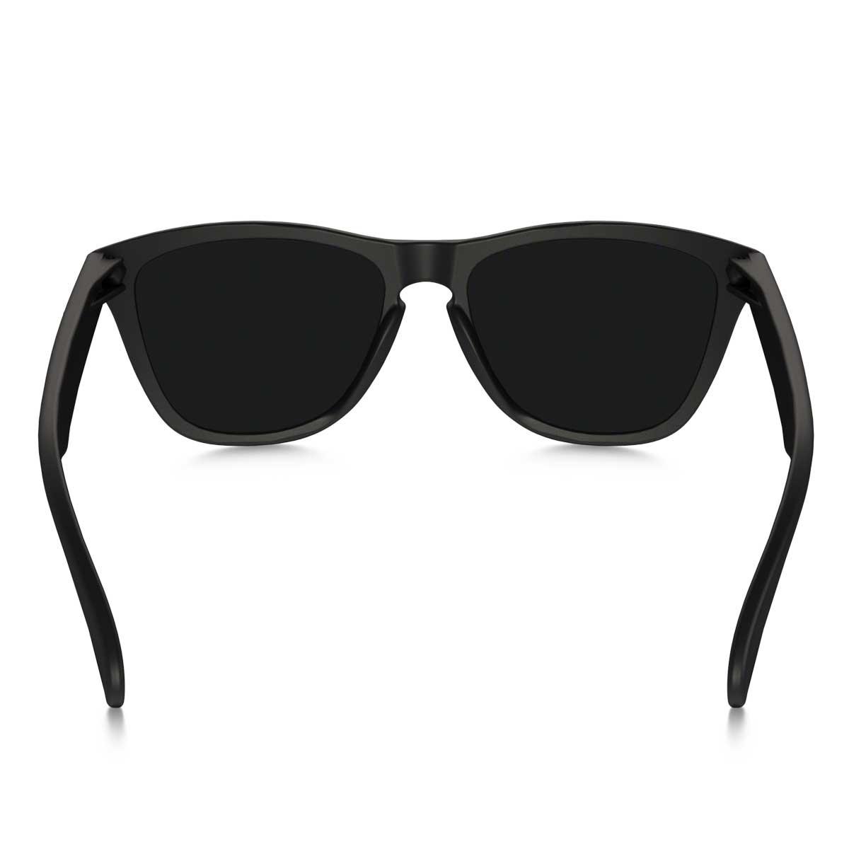 4dd24c87bc9 Oakley Frogskin Sunglasses Matte Black Violet Iridium « Heritage Malta