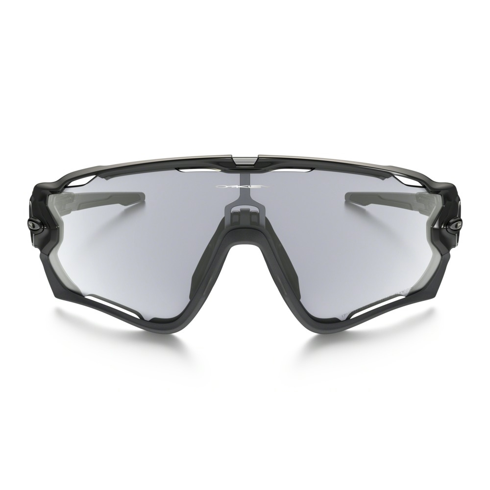 Oakley Jawbreaker Photochromic Sunglasses - Polished Black Frame ...
