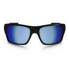 Image of Oakley Turbine Sunglasses - Polished Black / Prizm Deep Water Polarized