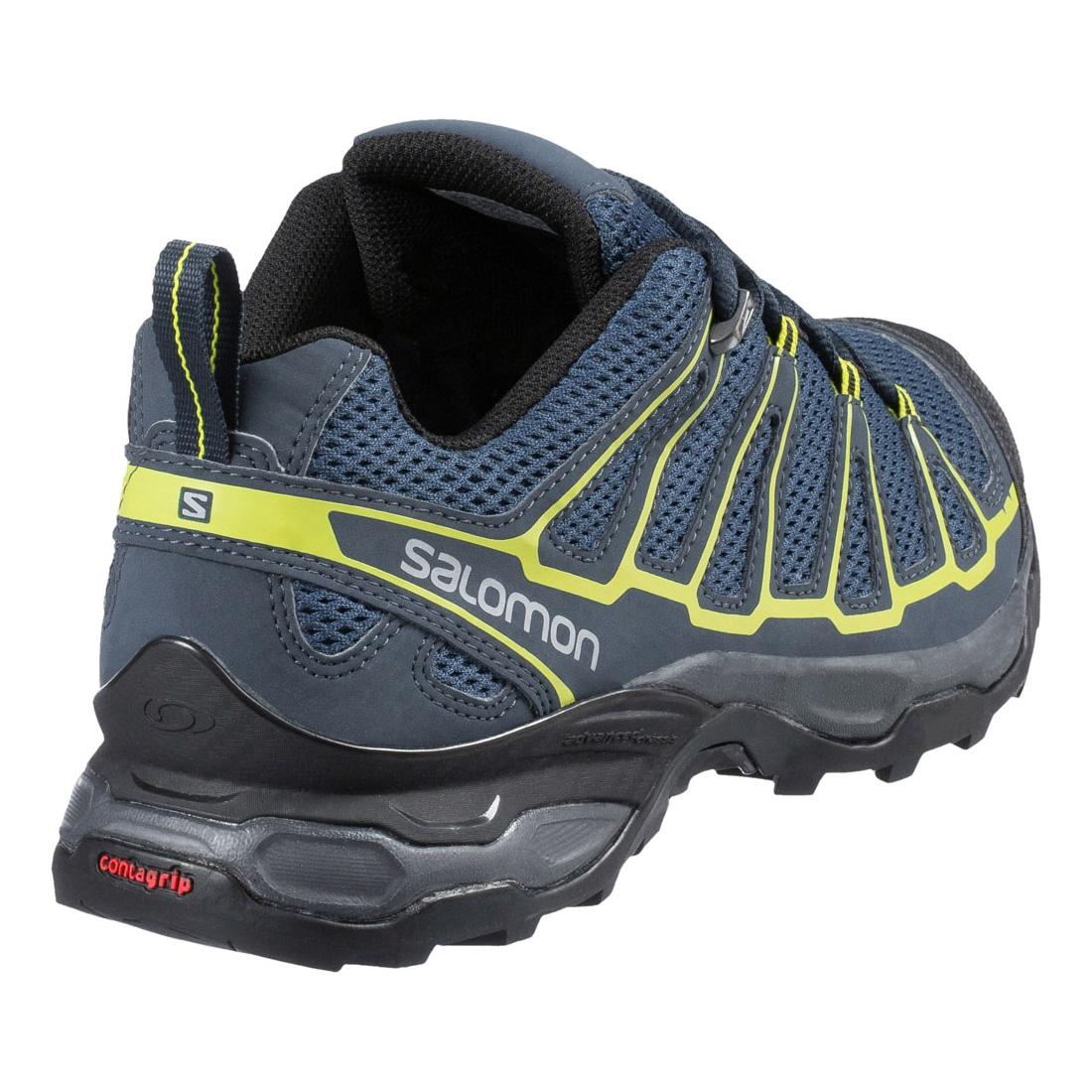 ... Image of Salomon X Ultra Prime Walking Shoes (Men's) - Fjord / Deep Blue  ...