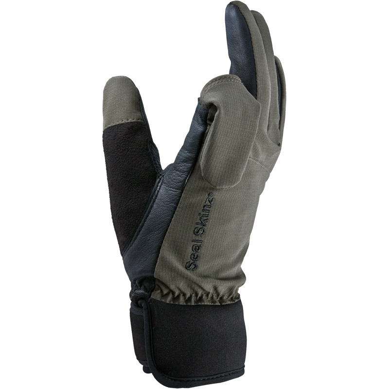 ... Image of SealSkinz Shooting Glove - Olive ...