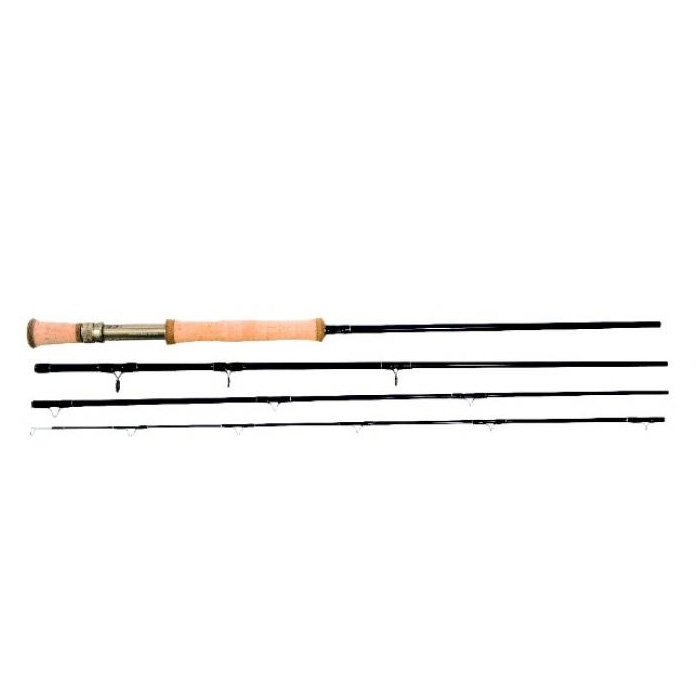 Snowbee 4 piece deep blue fly rod 9ft for Blue fishing rod