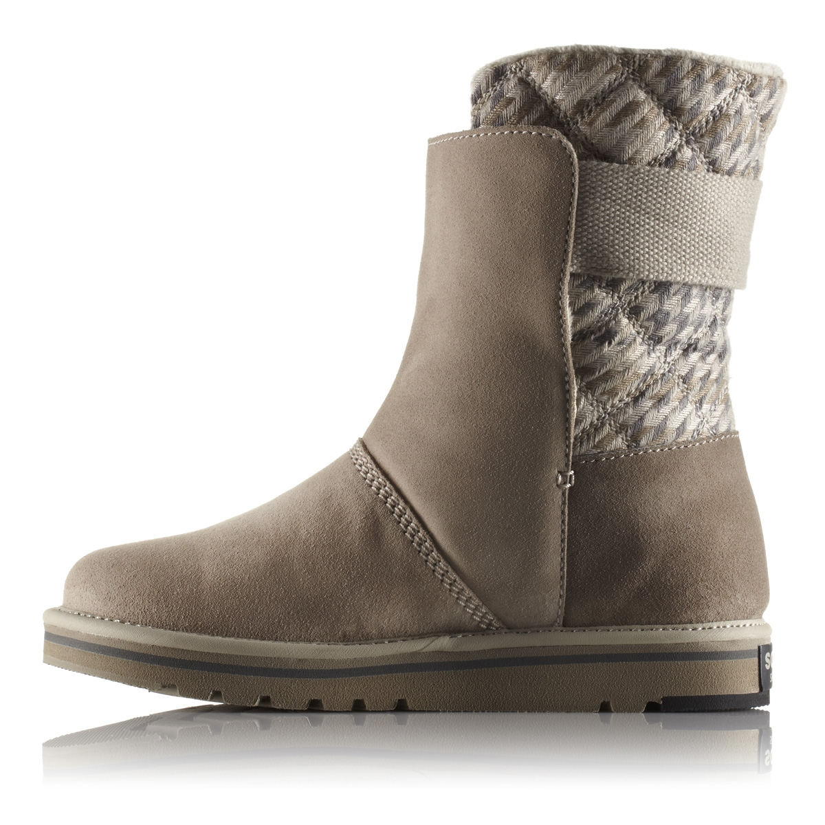 ... Image of Sorel Newbie Blanket Boots (Women's) - Silver Sage ...