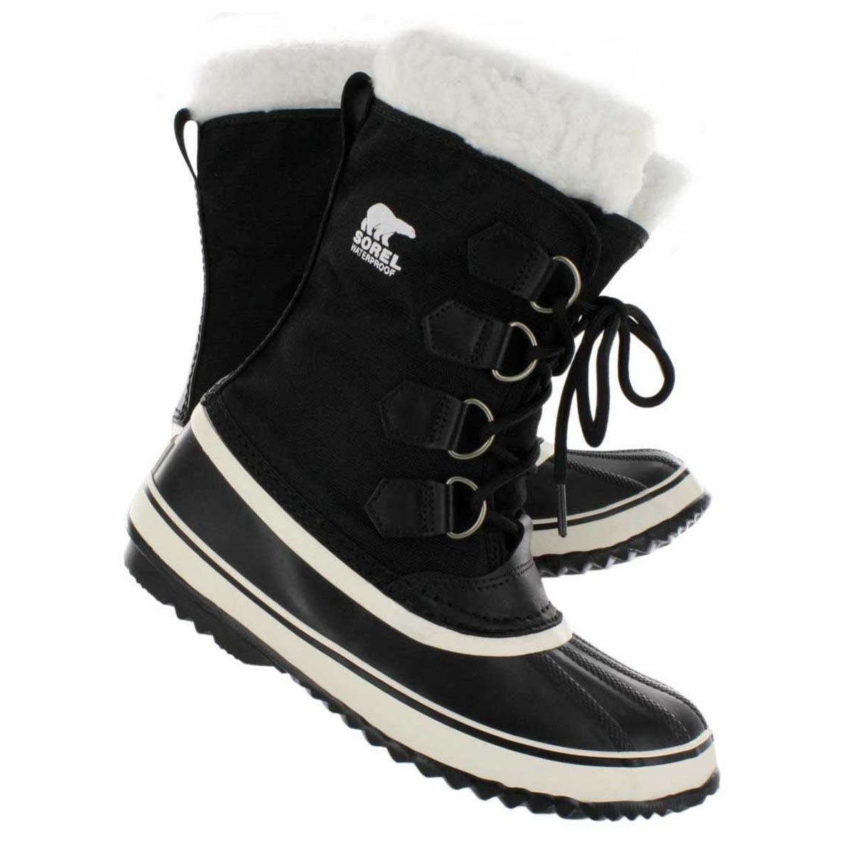 sorel winter carnival boots s black