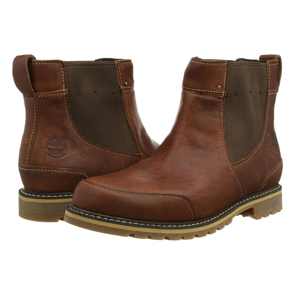 Image of Timberland Earthkeepers Chestnut Ridge Chelsea Boot Men's   Brown