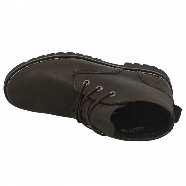 Image of Timberland Earthkeepers Larchmont WP Chukka Boots (Men's) Dark Brown