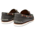 Image of Timberland Icon Classic 2 Tone 2 Eye Boat Shoe (Men's) - Navy Smooth