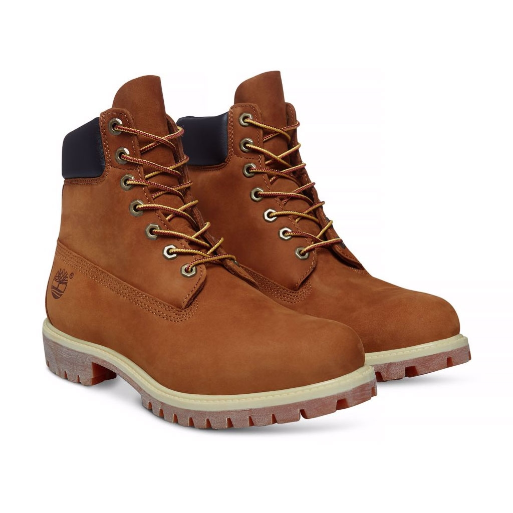 ... Image of Timberland Icon Classic 6 Inch Premium Original Boot (Men's) -  Rust Nubuck ...