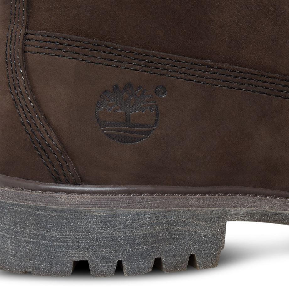 Clásico Blanco Boot Prima De 6 Pulgadas De Los Hombres De Timberland raSJB