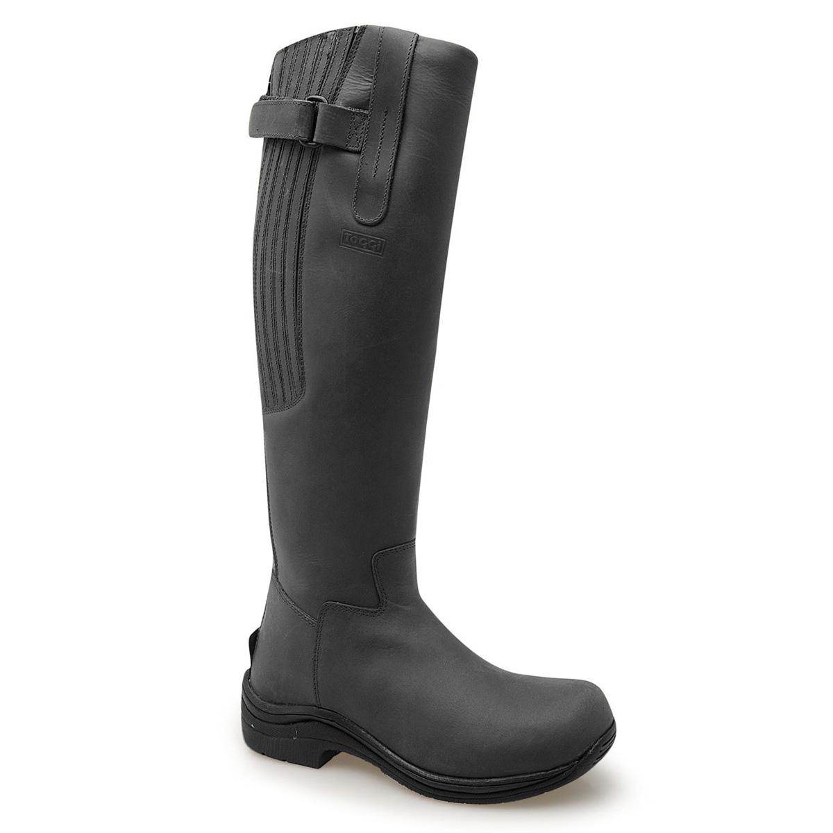Toggi Calgary Riding Boots (Womens) - Black | Uttings.co.uk