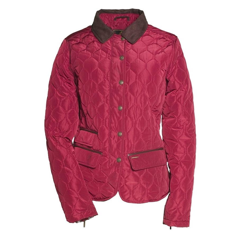 Toggi Shipley Ladies Quilted Jacket - Claret | Uttings.co.uk