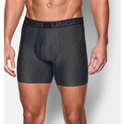 Image of Under Armour Original Series 6 Inch Boxerjock - Carbon Heather/Charcoal
